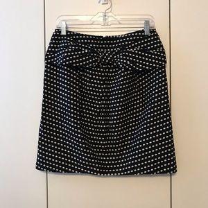Anthropologie Polka dot skirt